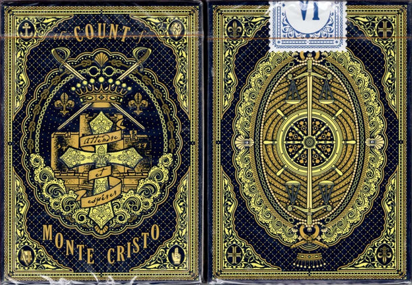 The Count of Monte Cristo Playing Cards EPCC:PlayingCardDecks.com