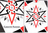 Cardistry Fanning White Playing Cards USPCC - PlayingCardDecks.com