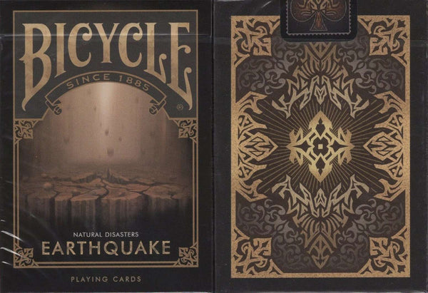 Earthquake Bicycle Playing Cards - PlayingCardDecks.com