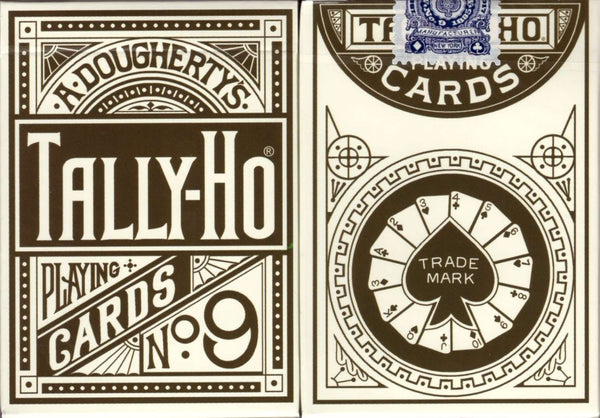 Tally-Ho No. 9 1885 Replica Playing Cards:PlayingCardDecks.com