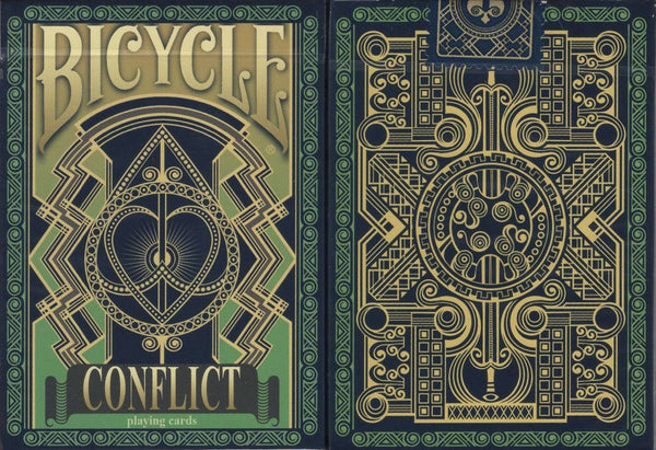 Conflict Bicycle Playing Cards - PlayingCardDecks.com