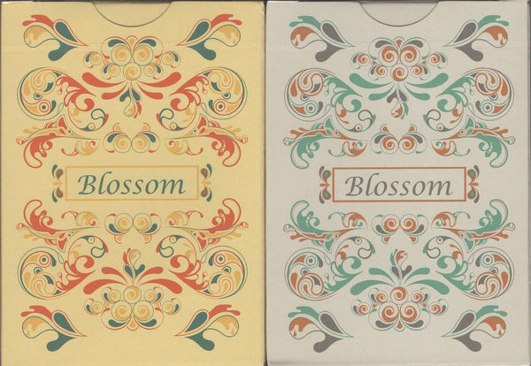 Blossom Playing Cards - Spring & Fall - USPCC - PlayingCardDecks.com