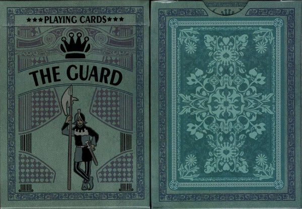 The Guard Slate Playing Cards USPCC:PlayingCardDecks.com