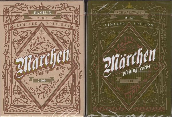 Marchen Playing Cards LPCC - Hamelin & Schwarzwald:PlayingCardDecks.com