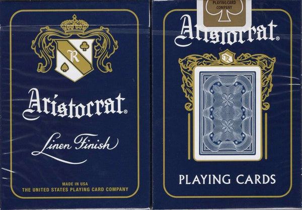 Aristocrat Playing Cards USPCC - Blue & Red - PlayingCardDecks.com