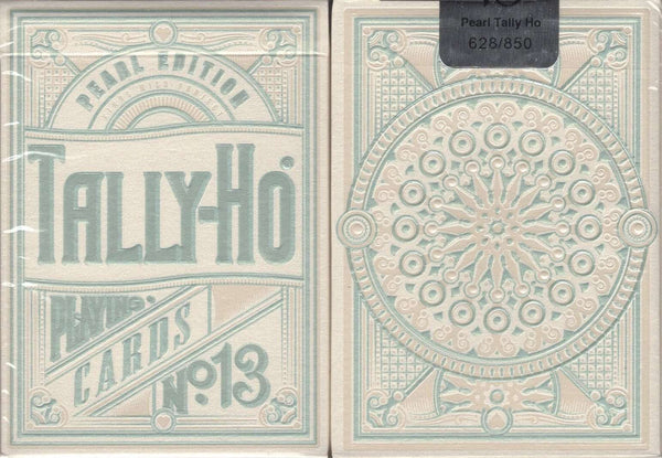 Pearl Tally-Ho Circle Back Playing Cards:PlayingCardDecks.com