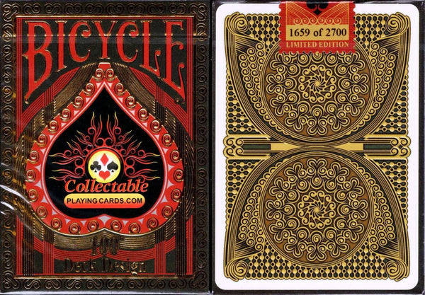 CPC 100th Deck Design Bicycle Playing Cards - PlayingCardDecks.com
