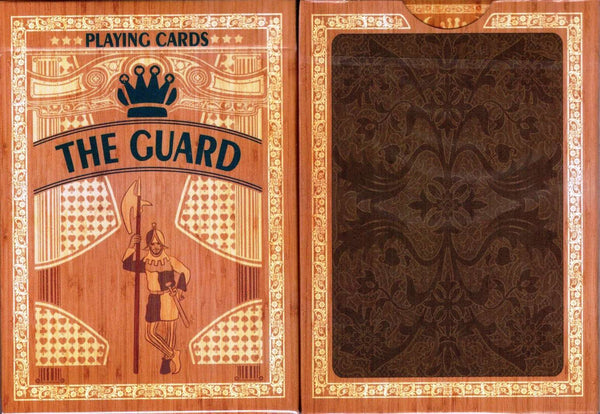 Guard Oak Playing Cards USPCC:PlayingCardDecks.com