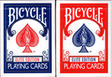 Elite Bicycle Playing Cards - Blue & Red - PlayingCardDecks.com