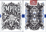 Empire Bloodlines Playing Cards USPCC - Emerald Green & Royal Blue - PlayingCardDecks.com