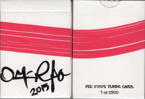 Red Stripe Playing Cards HCPC:PlayingCardDecks.com