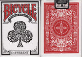 Different Bicycle Playing Cards - Red, Greenback & Black - PlayingCardDecks.com