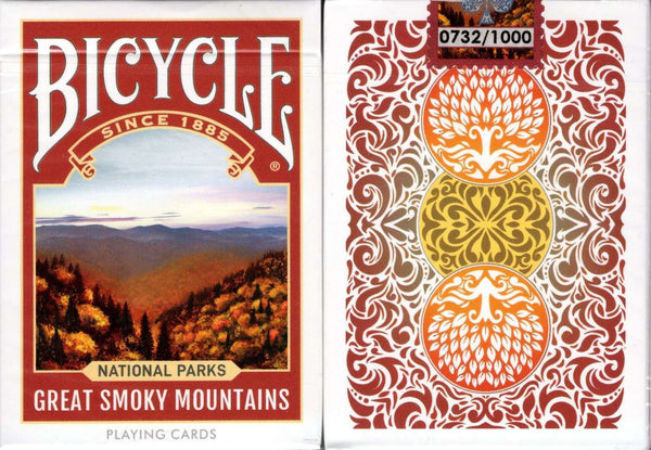 Playing Cards Great Smoky Mountains LIMITED Edition Bicycle National Parks