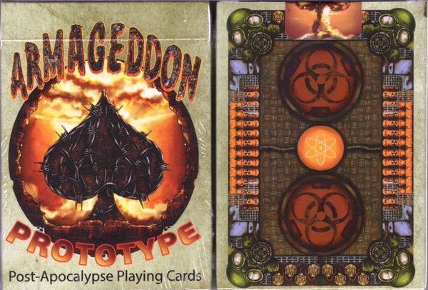Armageddon Post-Apocalypse Prototype Playing Cards MPC - PlayingCardDecks.com