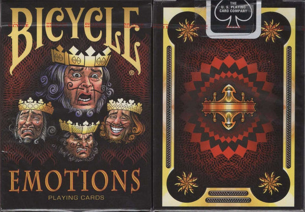 Emotions Bicycle Playing Cards - PlayingCardDecks.com