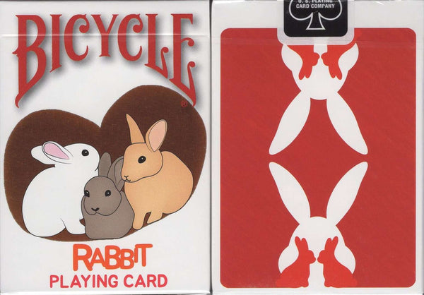 Rabbit Bicycle Playing Cards:PlayingCardDecks.com