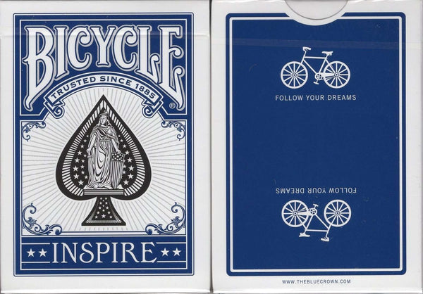 Inspire Bicycle Playing Cards:PlayingCardDecks.com