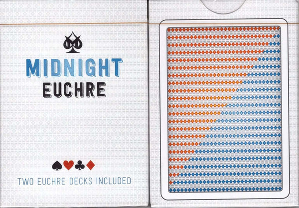 Midnight Euchre Playing Cards LPCC:PlayingCardDecks.com