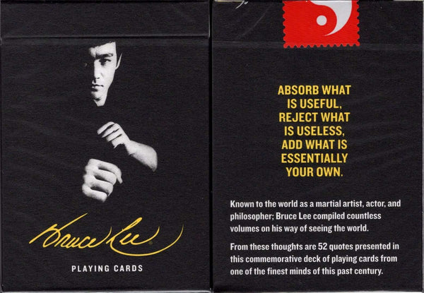 Bruce Lee Official Playing Cards USPCC - PlayingCardDecks.com