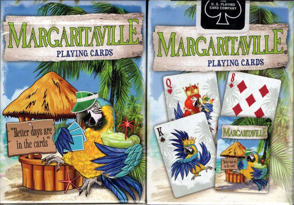 Margaritaville Playing Cards USPCC:PlayingCardDecks.com
