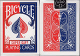 Super Gaff Bicycle Playing Cards - Blue & Red:PlayingCardDecks.com