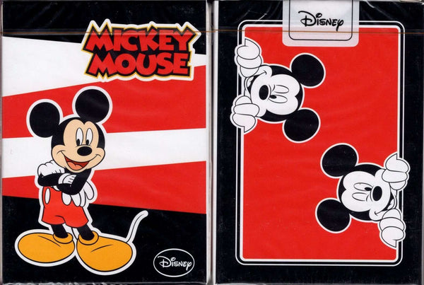 Mickey Mouse Playing Cards Jlcc