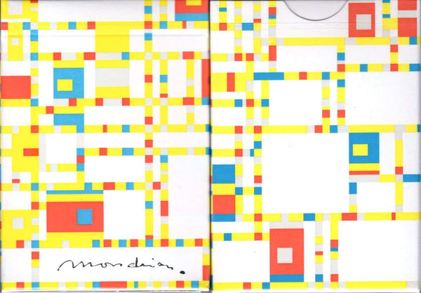 Mondrian Broadway Playing Cards USPCC:PlayingCardDecks.com