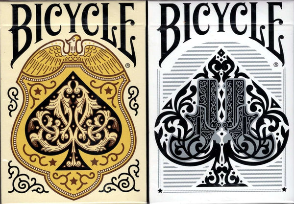 Wild West Bicycle Playing Cards - Lawmen & Outlaw