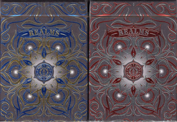 Realms Playing Cards EPCC - Blue & Red
