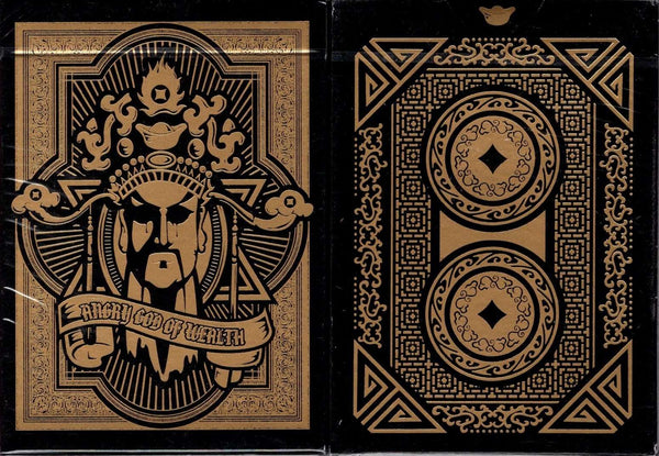 Angry God of Wealth Playing Cards USPCC - PlayingCardDecks.com