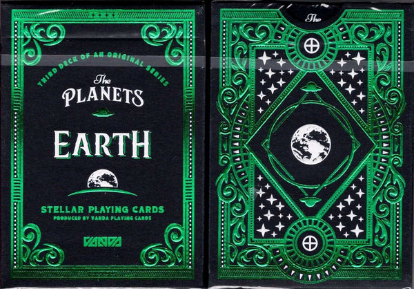 The Planets: Earth Playing Cards USPCC:PlayingCardDecks.com