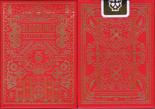 Bloodlines Playing Cards USPCC - PlayingCardDecks.com