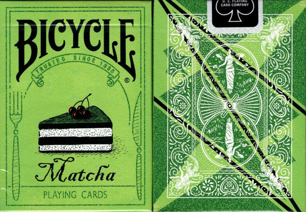 Matcha Bicycle Playing Cards