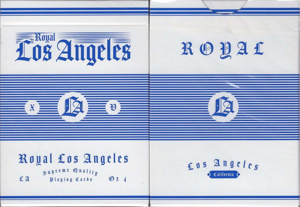 Royal Los Angeles Playing Cards USPCC:PlayingCardDecks.com
