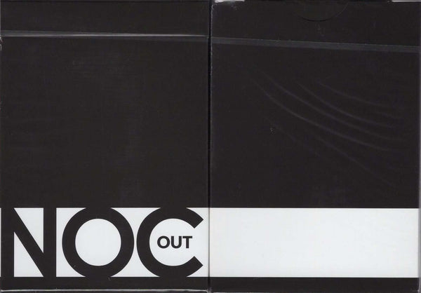 NOC Out Black Playing Cards USPCC:PlayingCardDecks.com