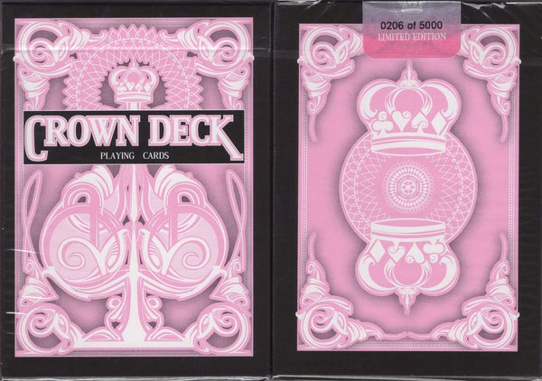 Crown Deck Pink Playing Cards USPCC - PlayingCardDecks.com