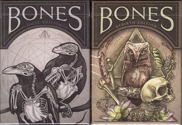 Bones Playing Cards USPCC - Dust & Rebirth - PlayingCardDecks.com