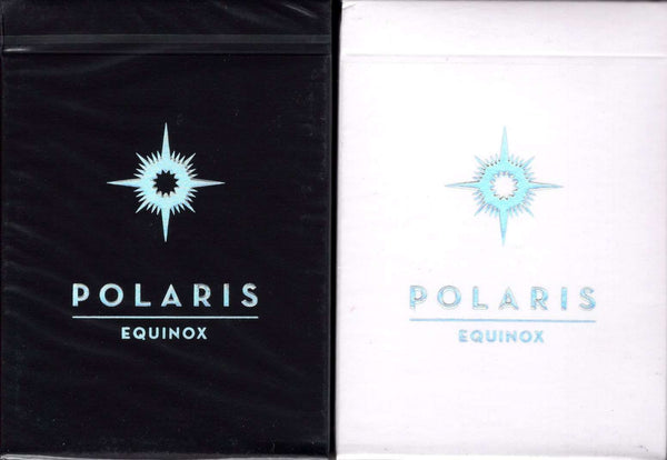Polaris Equinox Playing Cards USPCC - Dark & Light