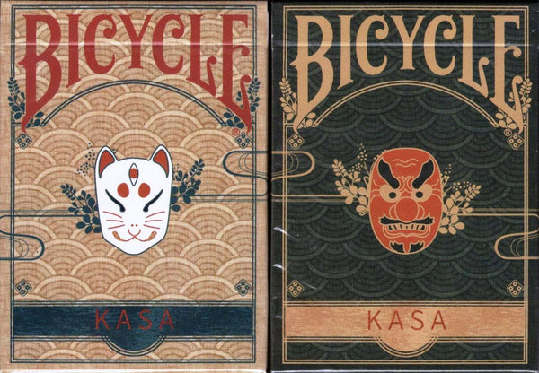 Kasa Bicycle Playing Cards 2 Deck Set - PlayingCardDecks.com