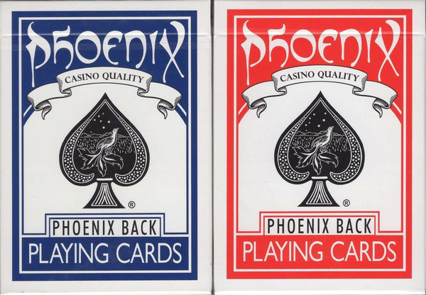 Phoenix Playing Cards USPCC - Blue & Red