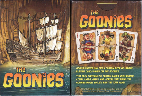 Goonies Movie Playing Cards:PlayingCardDecks.com
