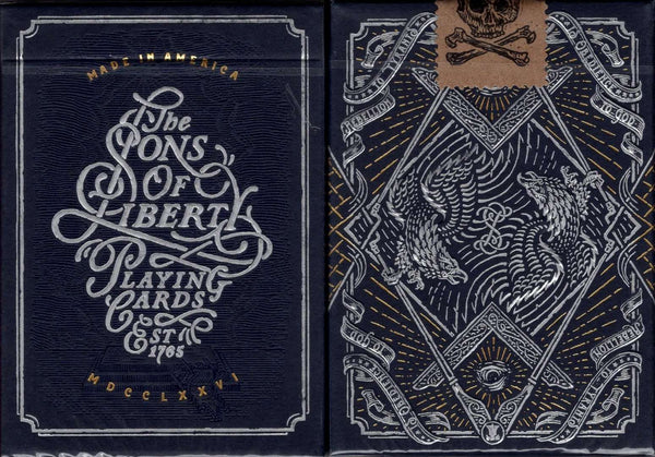 Sons of Liberty Playing Cards USPCC Tuck Case