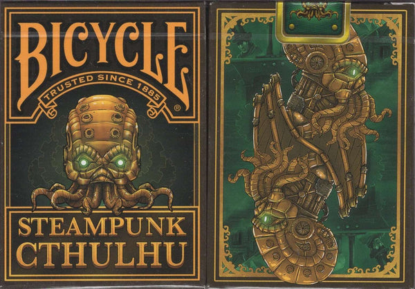 Steampunk Cthulhu Bicycle Playing Cards:PlayingCardDecks.com