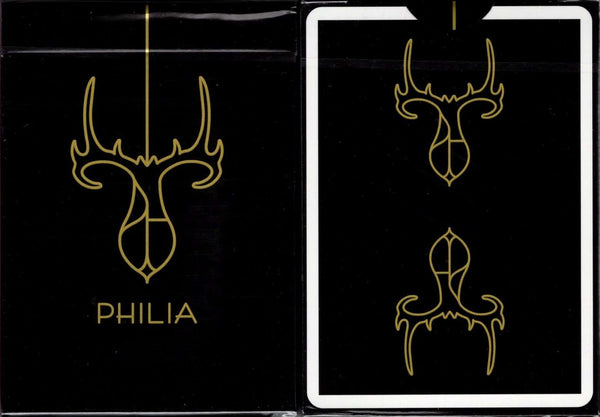 Gold Philia Playing Cards USPCC:PlayingCardDecks.com