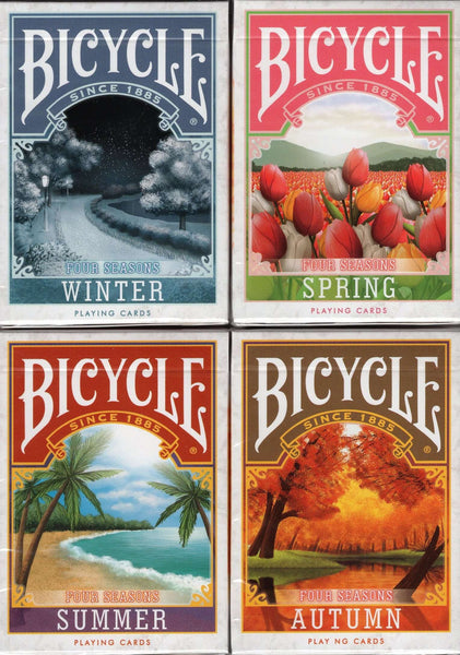 Four Seasons Bicycle Playing Cards - 4 Editions - PlayingCardDecks.com
