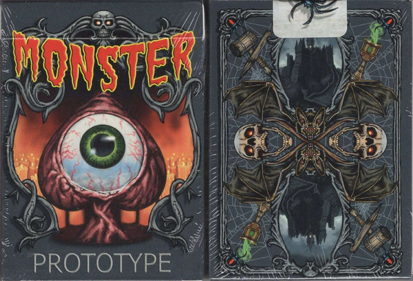 Monster Prototype Playing Cards MPC:PlayingCardDecks.com