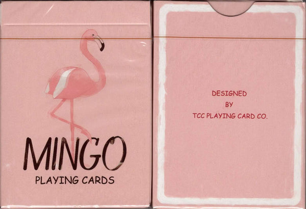 Mingo Flamingo Playing Cards TCC tuck case