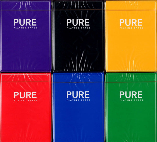 Pure Playing Cards TCC - 6 Colors