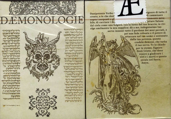 Demonologie Playing Cards LPCC