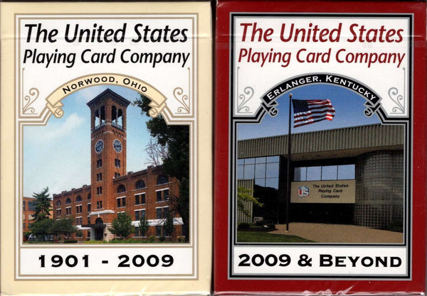 United States Playing Card Company Commemorative 2 Deck Set